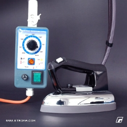 Electronic steam iron