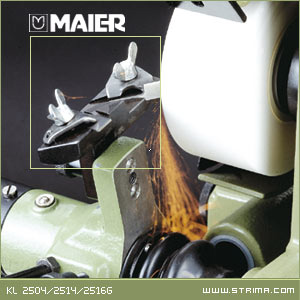KL 2504/2514/2516G - MAIER Knife holder for knife grinding machine for Juki 118-45609/118-45703/118-46003