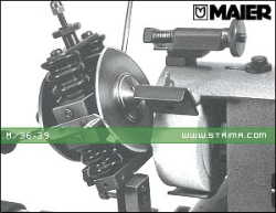 MAIER Grinding device for circular knives for grinding machine
