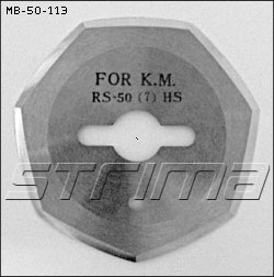 Heptagonal blade for YH-935, MB-50 (KM RS-50 )