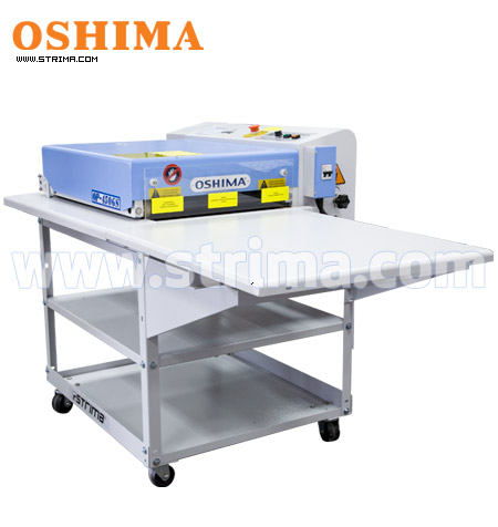 OP-450GST OSHIMA - OSHIMA continuous fusing machine + stand