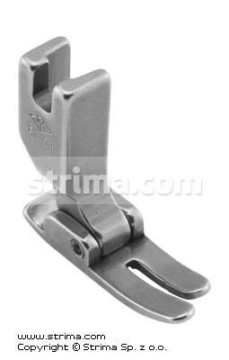 P351 - Standard foot for lockstitch machine with longer runner's rear