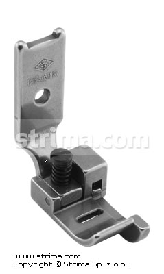 PF-A1R - Zigzag foot max 6mm with right guide and adjustable runner angle