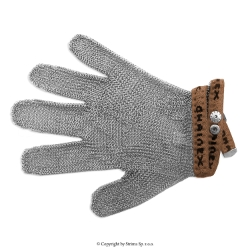 Protective glove, universal 5-digits, 0-size (brown) type SL 50 - S0 Brown