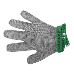 Protective glove, universal 5-digits, 1-size (green) type SL 51