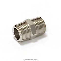 "Nipple with external thread 3/8"" x 3/8"""