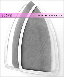 20672 - Wire mesh + frame insert (spacer) for iron shoe INOX - Sussman