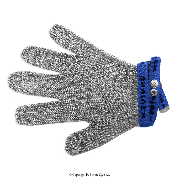 S4 Blue - Protective glove, universal 5-digits, 4-size (blue) type SL 54