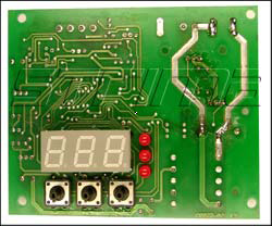 Electronic plate [time and temperature regulator] for M120