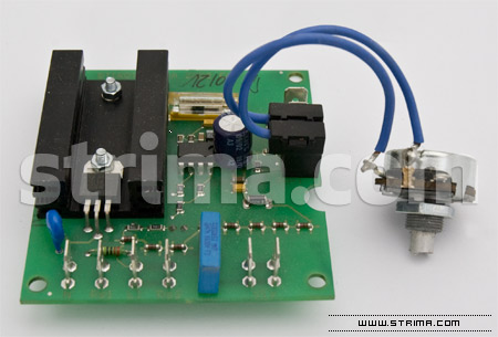 Electronic circuit EL2 with LCD