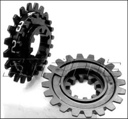 91605 - PRIX Consecutive raeding wheel with spaces