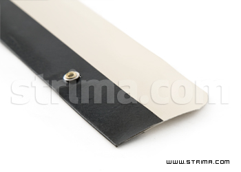 Smooth metal-PTFE scraper for OP-90LD