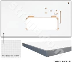 Table top for ZJ0303, ZJ0628, ZJ8500H, ZJ8700, ZJ8700-5, Siruba L818, L819, L918 i Juki DDL 5550 lockstitch machine