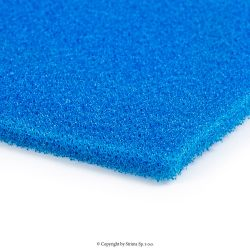 Softening foam blue, width 130 cm, thickness 5 mm - ELASTIC STANDARD 5MM BLUE 130
