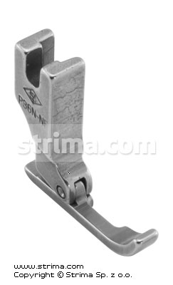 P36N-NF - Cording needle feed foot, right, narrow