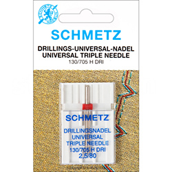 SCHMETZ drilling needle 130/705H DRI, distance 2,5mm, 3x80