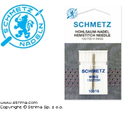 SCHMETZ wing needle 130/705H WING, 1pc. 1x100