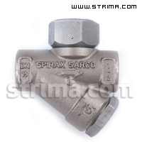 Thermodynamic Steam Trap SPIRAX SARCO TD42L + filter 1/2""
