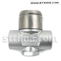 Thermodynamic Steam Trap MIYAWAKI SD1 + filter 1/2""