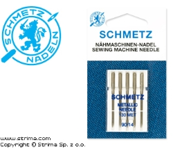 SCHMETZ embroidery needles 130 MET. 5pcs. 5x90