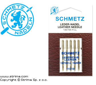 SCHMETZ leather needles 130/705H LL, 5pcs. 5x110