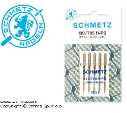 SCHMETZ stretch needles 130/705H-PS, 5pcs. 5x75