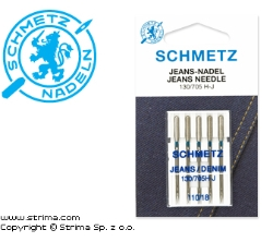 SCHMETZ jeans/denim needles 130/705H-J, 5pcs. 5x110