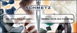 SCHMETZ sewing machine needle G25, 1box = 100 pcs - 124X2 200