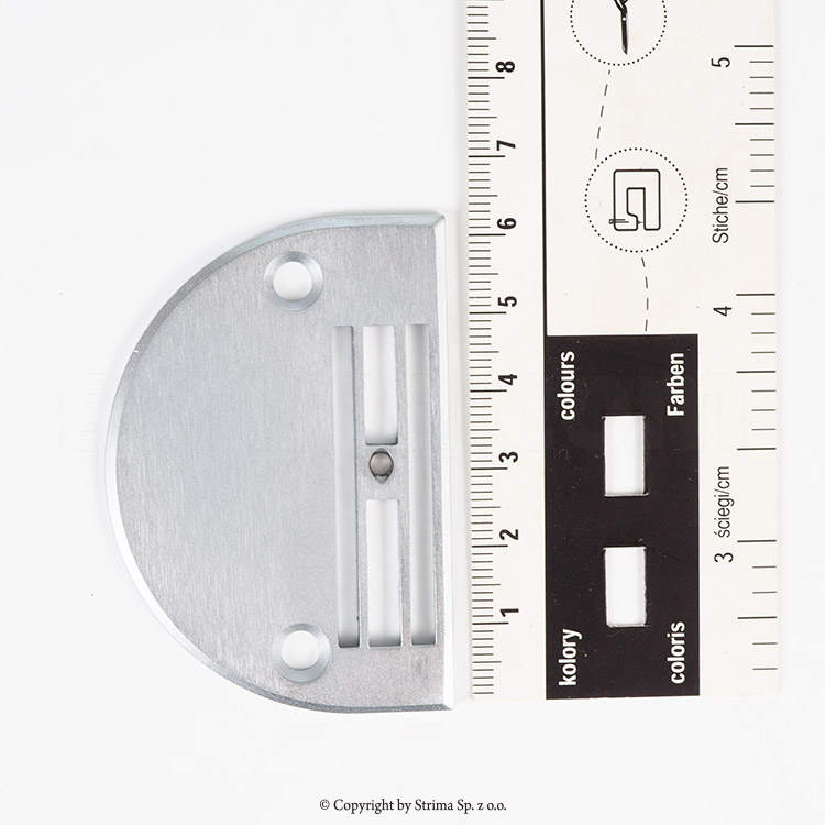 E711 SIRUBA ORIGINAL - NEEDLE PLATE for SIRUBA lockstitch machine L818F-H1 /-H1-13