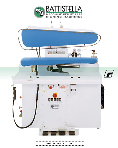 Pneumatic ironing press