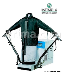 Pneumatic steaming dummy - BATTISTELLA ZEUS/V PNEUMATIC