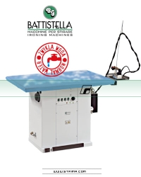 Steaming table for knitted fabric with steam generator - BATTISTELLA URANO MAXI VAP SG 170x80