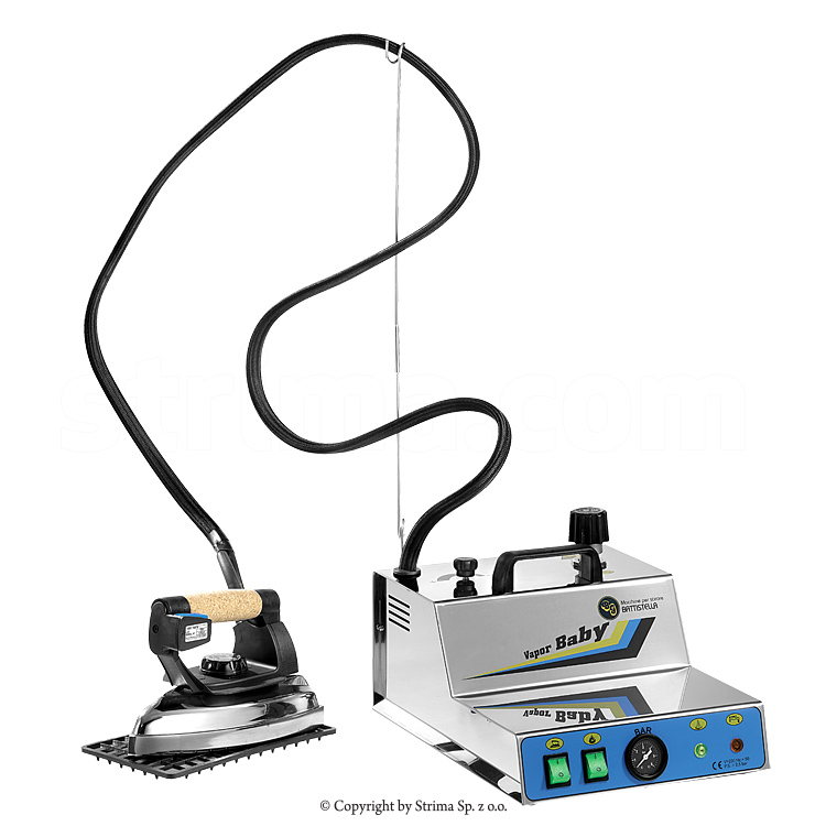 Steam generator with iron - BATTISTELLA VAPORBABY INOX