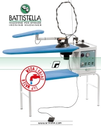 Iron table with steam generator and STEAM MASTER iron - BATTISTELLA VULCANO MAXI