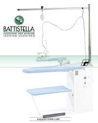 Trolley ironing cable support for BATTISTELLA board type tables