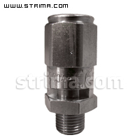 "Safety valve 1/8"" for TEXI SMART S+B, PLUTONE, SATURNINO, SATURNINO PLUS, VAPORBABY, BARBARA. LUNA, ERA, VULCANO, VAPORINO"