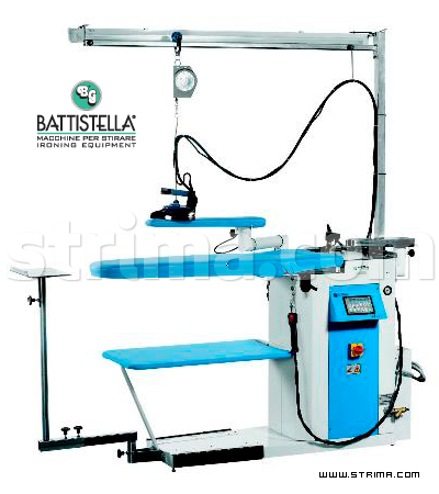 BATTISTELLA ANDROMEDA MAX VAP - Ironing table with steam generator