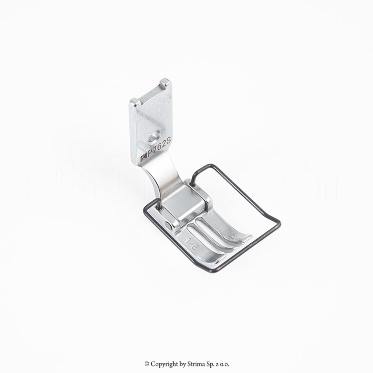 P762S SIRUBA ORIGINAL - PRESSER FOOT for two needle lockstitch machine T828-75-032 M/C, T828-75-032 H/C