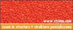 Siliconed foam orange, width 150 cm, thickness 10 mm - ELASTIC MICRO 10MM ORANGE 150