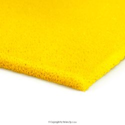Siliconed foam yellow, width 150 cm, thickness 6 mm