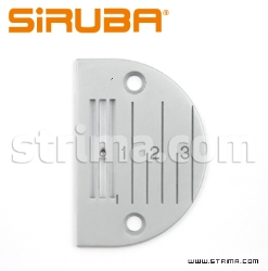 NEEDLE PLATE for SIRUBA lockstitch machine L818F-M1/-M1-03 /-M1-13 - E704 SIRUBA ORIGINAL
