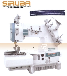 SIRUBA 2-needles flat chainstitch machine for belt-loop seaming - sewing machine - head only