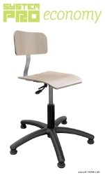 Rotary chair - plywood, feet - SYSTEM PRO ECONOMY Eco3