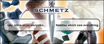 SCHMETZ sewing machine needle G15 + extra charge for thin size (G16), 1box = 100 pcs