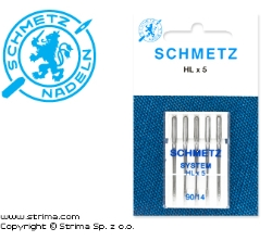 SCHMETZ needles HLX5, 5pcs. 5x90