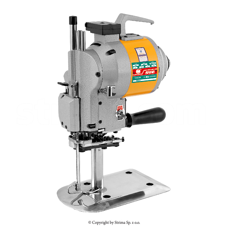 "Straight knife machine 5"", 230V, cutting height 3.1/2""=9cm"