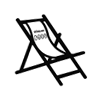 Deck chair from Strima as a gift !