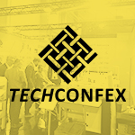 The TECHCONFEX exhibition has started