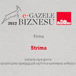 Strima once again awarded as Business e-Gazelle.
