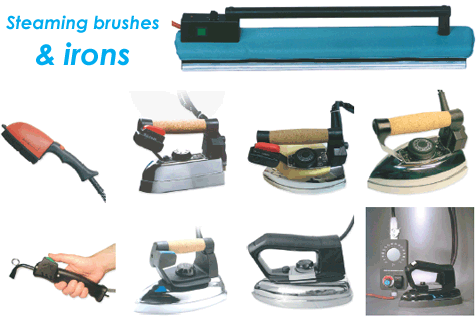 Brushes & irons